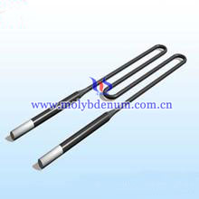 W-shaped molybdenum disilicide