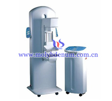 high-frequency molybdenum target X-ray mammography machine image