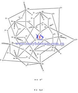 silicomolybdic acid illustrative structural diagrams picture
