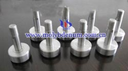 top hat molybdenum electrode picture